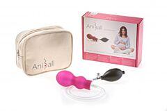 Balónek na přípravu před porodem Aniball TMAVĚ RŮŽOVÁ