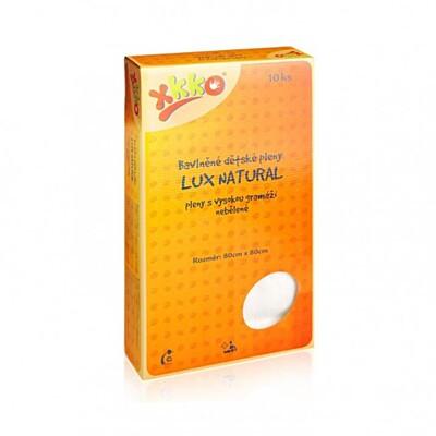 Bavlněné dětské pleny LUX ECO natural Kikko