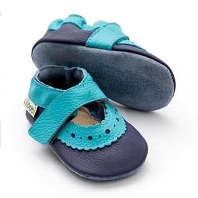 Sandálky Sahara Liliputi Blue