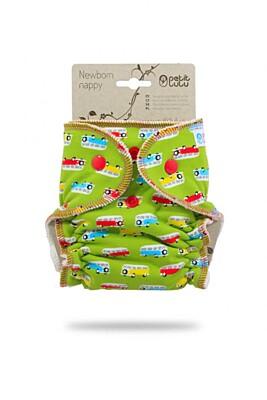 Novorozenecká kalhotková plena na patentky Petit Lulu