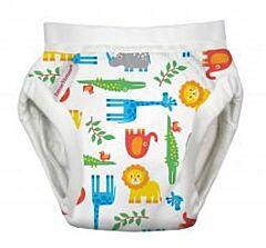 Tréninkové kalhotky Organic Imse Vimse Zoo L