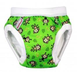 Tréninkové kalhotky Imse Vimse Organic Zelené opičky