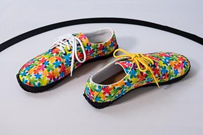 Barefoot boty Kytičkovaná syntetika Ahinsa shoes