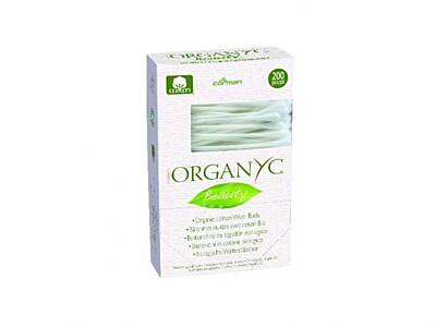 Bio Organyc vatové čistící tyčinky, 200ks