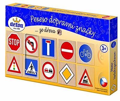 Pexeso Dopravní značky Detoa