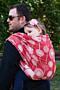 Šátek Dandelions Red Moisha - 4,7m