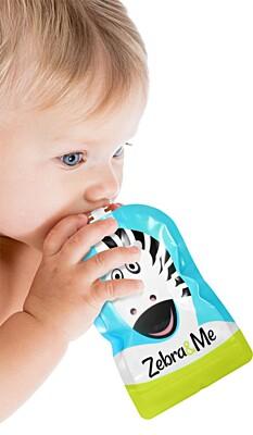 Kapsička na dětskou stravu Kuchař Zebra&Me