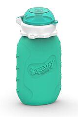 Silikonová kapsička aqua 180 ml Squeasy