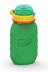 Silikonová kapsička zelená 180 ml Squeasy