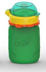 Silikonová kapsička zelená 104 ml Squeasy