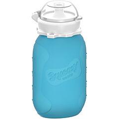 Silikonová kapsička modrá 180 ml Squeasy