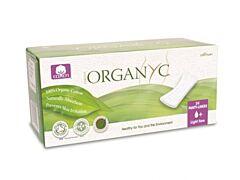 Dámské hygienické bio vložky slipové rovné Organyc