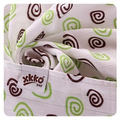 Bambusové pleny 70x70cm Lime Mix Kikko