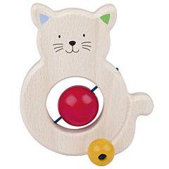 Kočka - hračka pro miminka Heimess