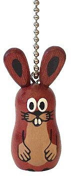 Malý přívěšek s motivem zvířatek z Krtečka
