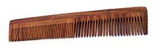 Hřeben z palisandrového dřeva s rukojetí-dvojitý