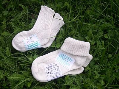 Ponožky dětské Alice I Ohrnutý lem Surtex