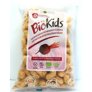 Kukuřičné křupky BioKids červená řepa