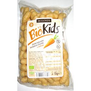 Kukuřičné křupky BioKids mrkev