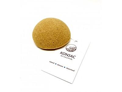 Konjac - Žlutý houbička na obličej, bochánek