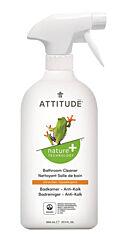 Čistící prostředek na koupelny s vůní citronové kůry s rozprašovačem Attitude 800 ml