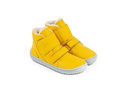Dětské zimní barefoot boty Be Lenka Panda - Mango - 25