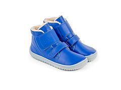 Dětské zimní barefoot boty Be Lenka Panda - Blue - 25