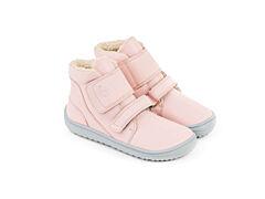 Dětské zimní barefoot boty Be Lenka Panda - Rose Pink - 25