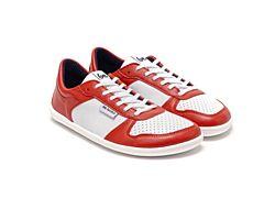 Barefoot tenisky Be Lenka Champ - Patriot - Red & White - 35