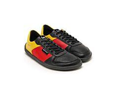 Barefoot tenisky Be Lenka Champ - Patriot - Black, Red & Gold - 35