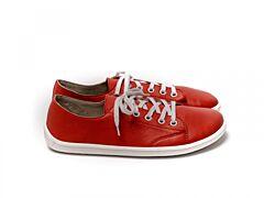 Barefoot tenisky Be Lenka Prime kožené Red - 36