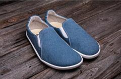 Barefoot boty Be Lenka Eazy plátěné Blue 37