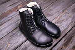 Barefoot kotníkové boty Be Lenka Winter Black - 36