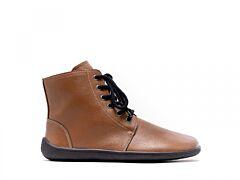 Barefoot kotníkové boty Be Lenka Nord – Caramel - 37