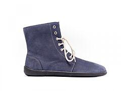 Barefoot kotníkové boty Be Lenka Winter Marine - 36