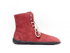 Barefoot kotníkové boty Be Lenka Winter Wine - 36