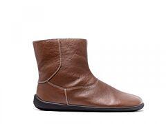 Barefoot kotníkové boty Be Lenka Polar – Brown - 36