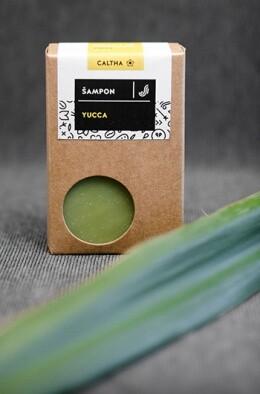 Tuhý šampon Yucca 100 g Caltha