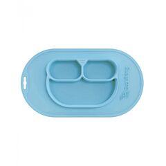 Silikonová jídelní podložka Ecoviking - mint green