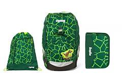 Batoh školní Ergobag prime Rex 2020 - set penál + sportovní pytel