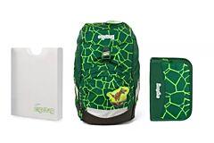 Batoh školní Ergobag prime Rex 2020 - set penál + desky