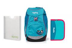 Batoh školní Ergobag prime Tropical 2020 - set penál + desky