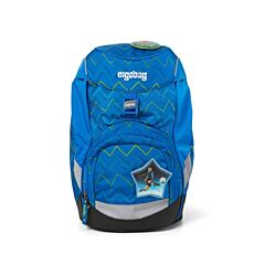 Batoh školní Ergobag prime modrý Zig Zag 2020 - samostatný