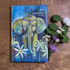 Inspirační diář pro ženy –Slon