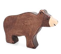 Holztiger - dřevěný medvěd, hnědý