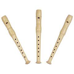 Zobcová flétna přírodní, 20 cm Goki