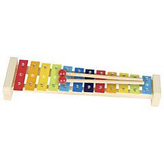 Xylofon pastelový, 12 tónů, 37,5 cm