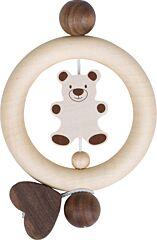 Medvídek a velké srdce – kroužek pro děti (Heimess nature)
