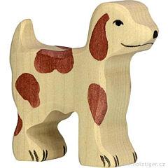 Hlídací pes, malý – zvířátko ze dřeva - Holztiger