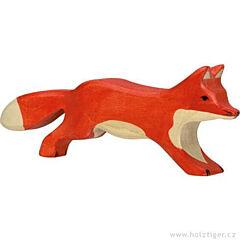 Liška běžící – dřevěné zvířátko z lesa - Holztiger